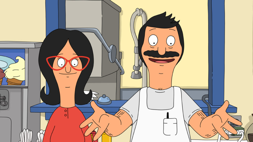 Bob and Linda Belcher of FOX's Bob's Burgers
